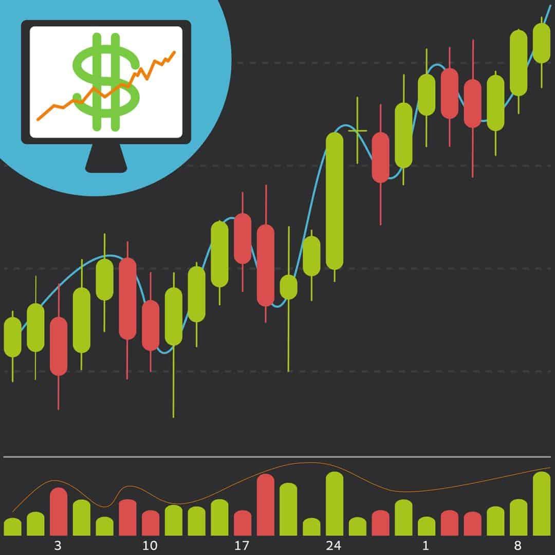 stock, chart, finance