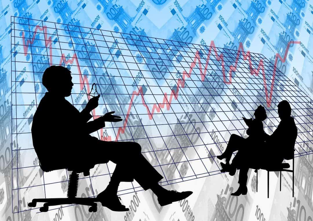 analysis, pay, businessmen, teoria del mercado